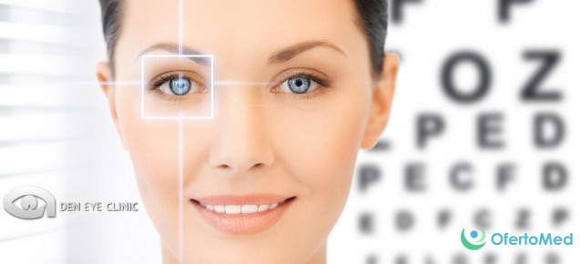 Laser correction of the vision for 650€ per eye in DEN Eye Clinic in Bulgaria!